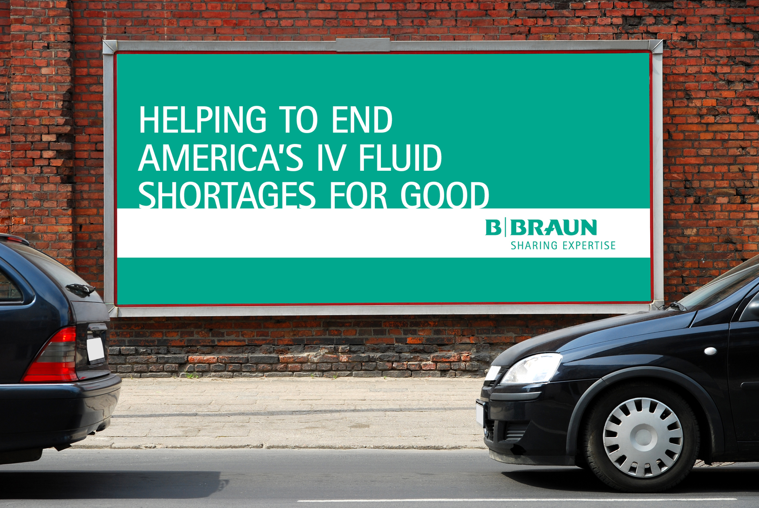 b braun sharing expertise billboard image