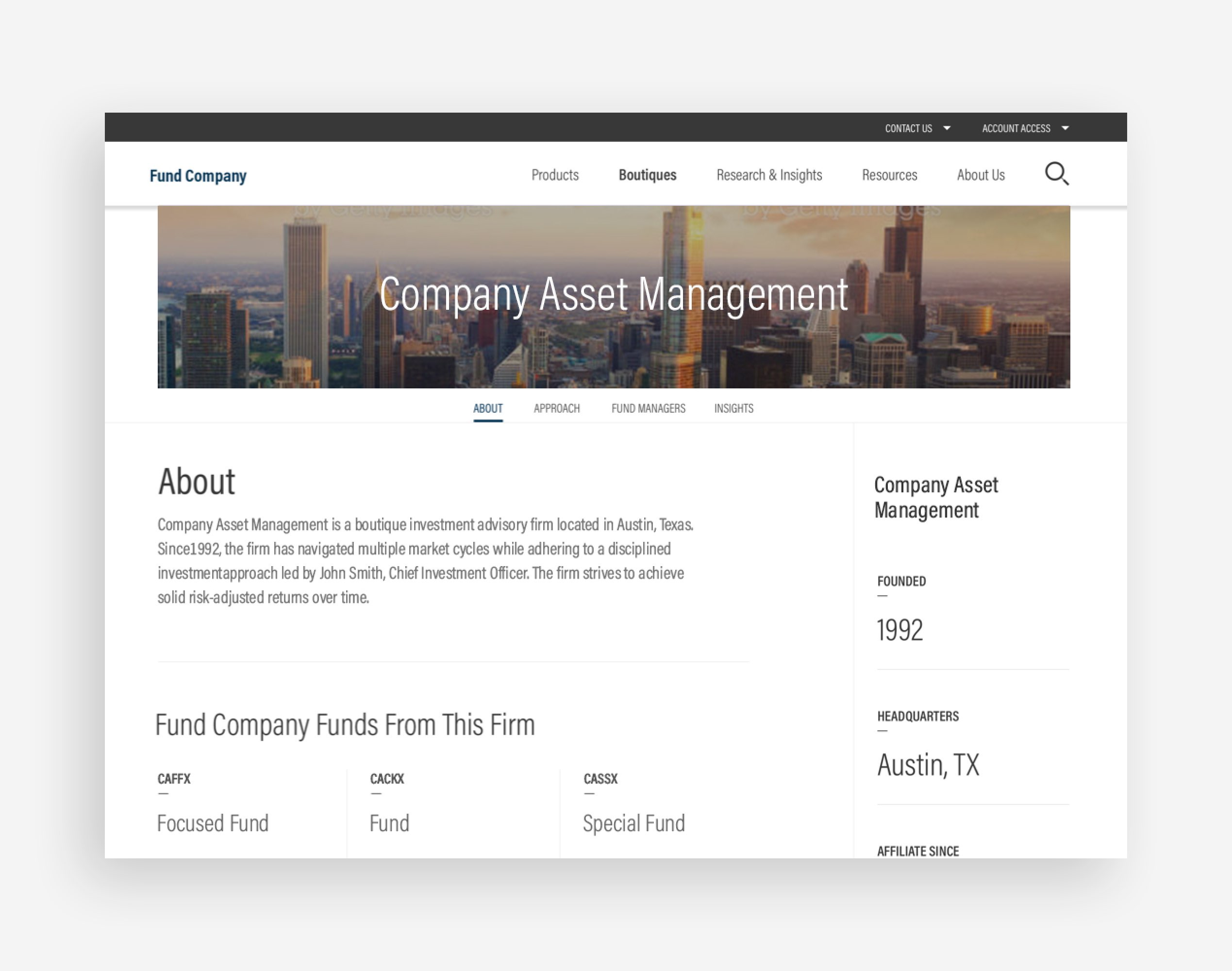 Large Asset Management Example Image